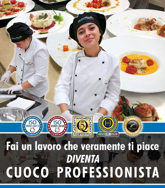Scuola di Cucina a Roma: Corso di Cuoco Professionista.