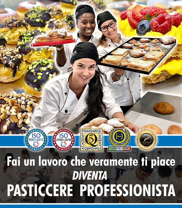Scuola di Cucina a Roma: Corso di Pasticceria Professionale.