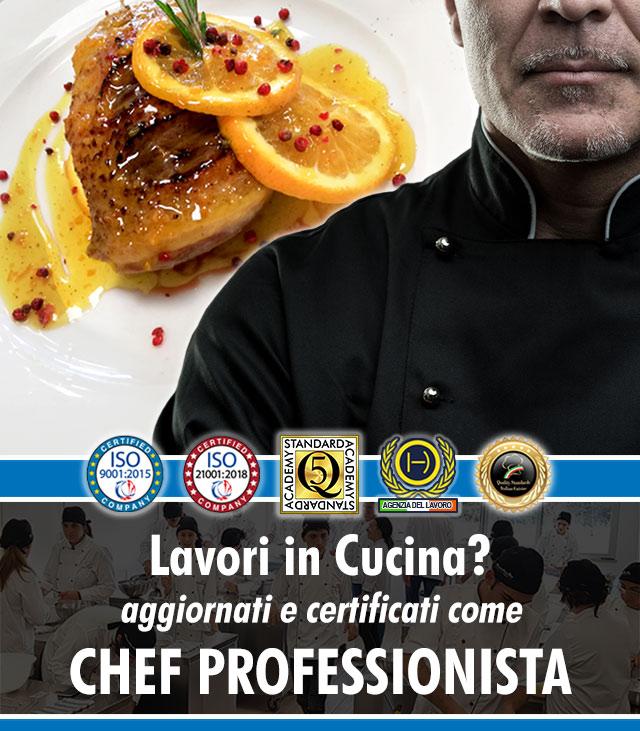 Scuola di Cucina a Roma: Corso di Chef Professionale