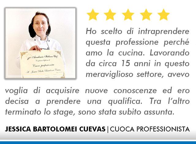 Opinioni Corso Cuoco a Roma - Cuevas