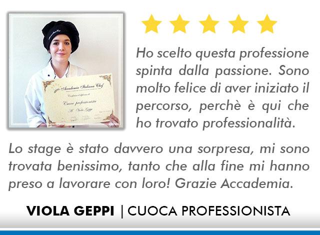 Opinioni Corso Cuoco a Roma - Geppi