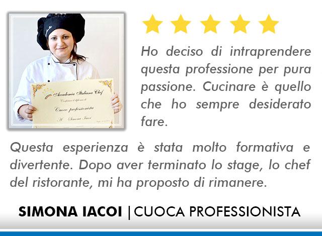 Opinioni Corso Cuoco a Roma - Iacoi