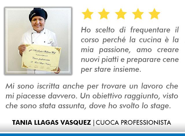 Opinioni Corso Cuoco a Roma - Vasquez