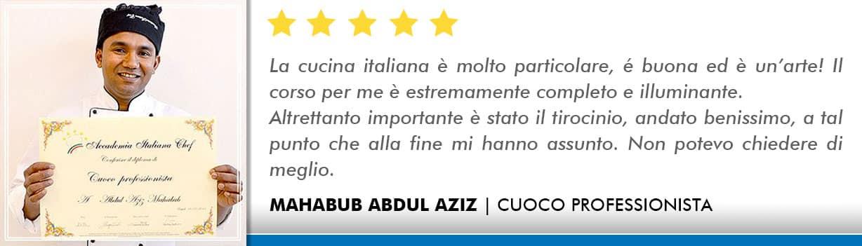 Opinioni-Corso-Cuoco-Abdul