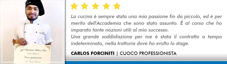 Opinioni-Corso-Cuoco-Carlos-Forciniti