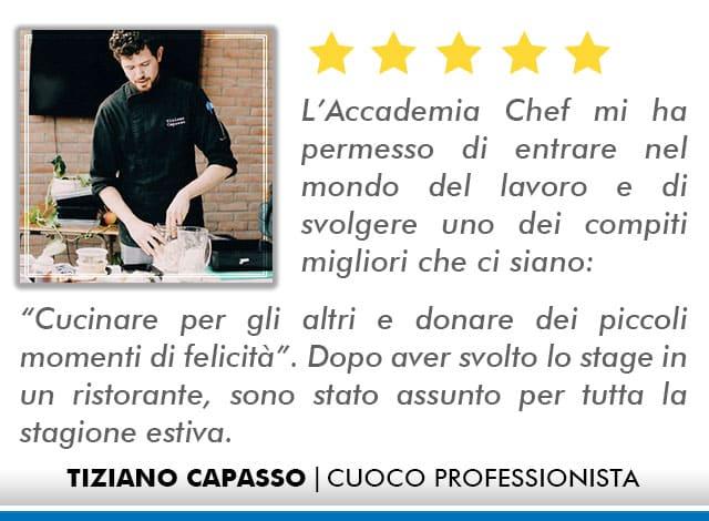 Opinioni Corso Cuoco a Roma - Capasso