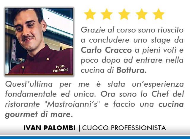 Opinioni Corso Cuoco a Roma - Palombo