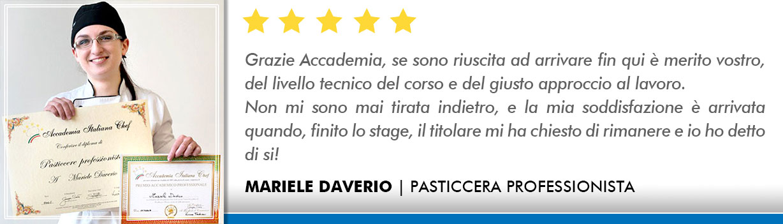 Opinioni Corso Pasticceria a Roma - Daverio