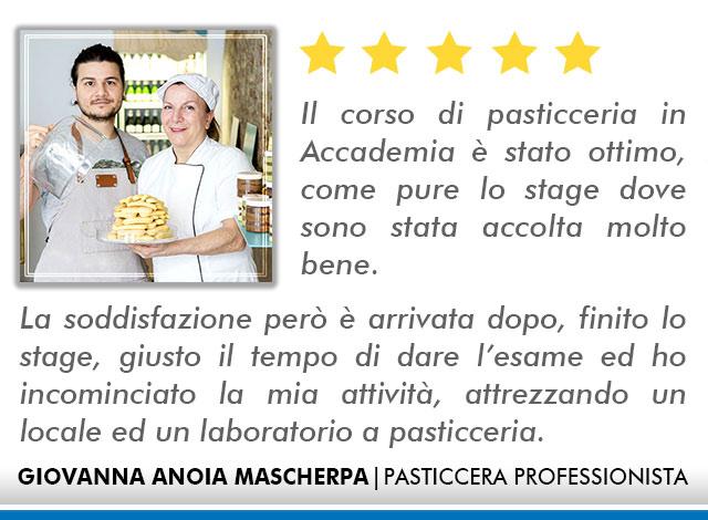 Opinioni Corso Pasticceria a Roma - Mascherpa