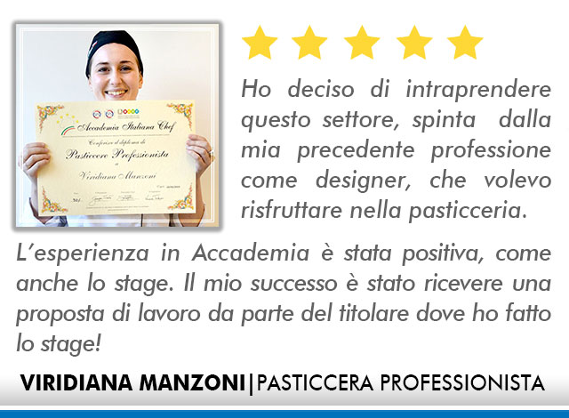 Opinioni Corso Pasticceria a Roma - Manzoni