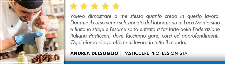 Opinioni Corso Pasticceria a Roma - Delsoglio