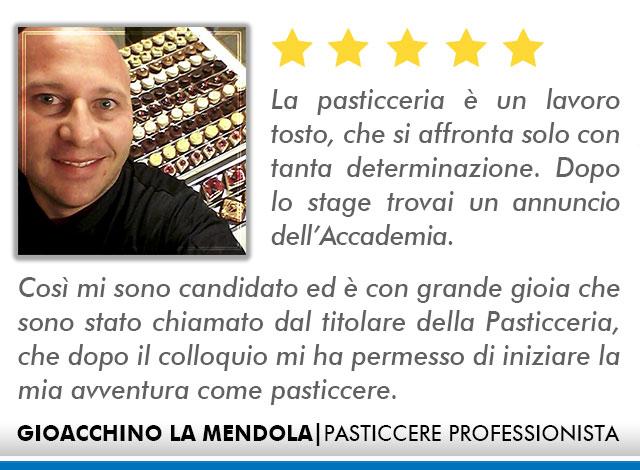 Opinioni Corso Pasticceria a Roma - Mendola