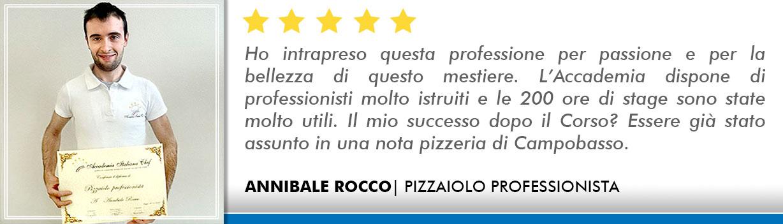 Opinioni Corso pizzaiolo Roma - Annibale