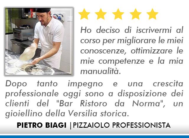 Opinioni Corso Pizzaiolo Roma - Biagi