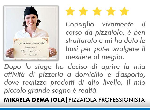 Opinioni Corso Pizzaiolo Roma - Dema