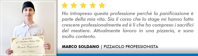 Opinioni Corso Pizzaiolo Roma - Soldano