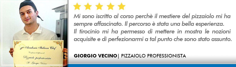 Opinioni Corso Pizzaiolo Roma - Vecino