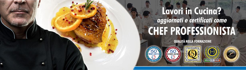 Corso di Chef Professionista a Roma