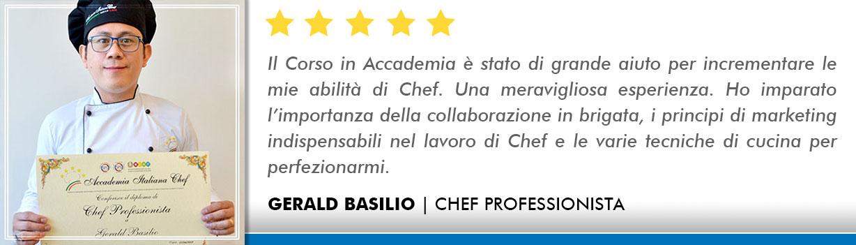 Opinioni-Corso-Chef - Basilio