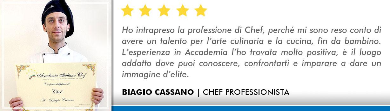 Opinioni-Corso-Chef - Cassano
