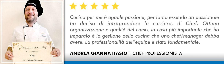 Opinioni-Corso-Chef - Giannattasio
