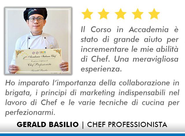 Opinioni-Corso-Chef - M-Basilio