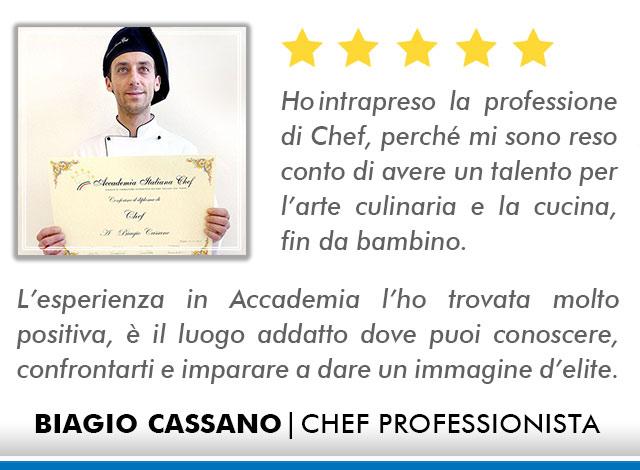Opinioni-Corso-Chef - M-Cassano