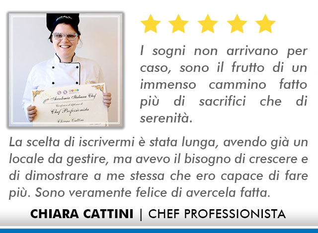 Opinioni-Corso-Chef - M-Cattini
