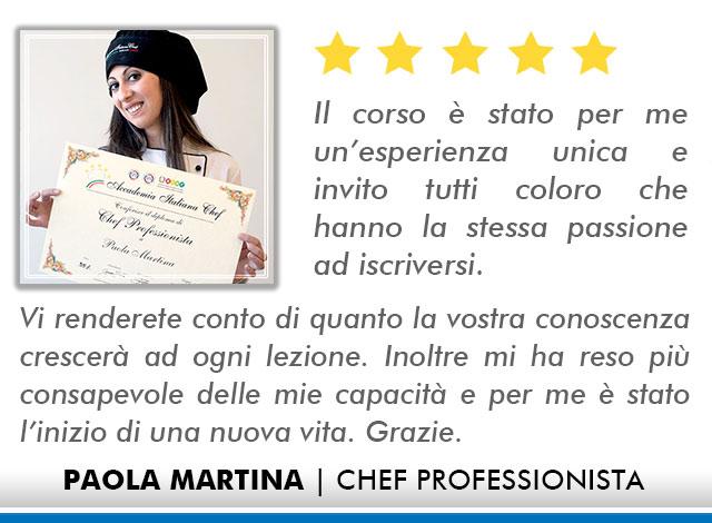 Opinioni-Corso-Chef - M-Martina