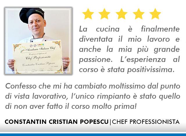Opinioni-Corso-Chef - M-Popescu