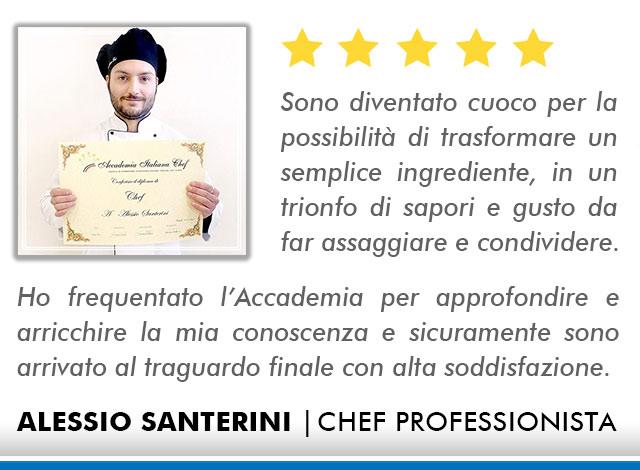 Opinioni-Corso-Chef - M-Santerini