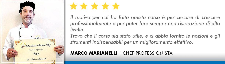 Opinioni-Corso-Chef - Marianelli