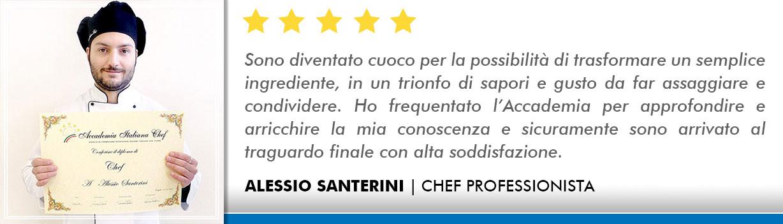 Opinioni-Corso-Chef - Santerini