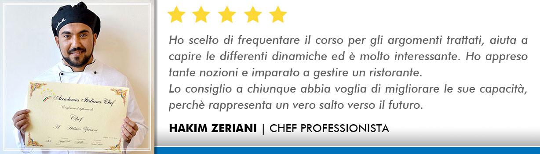 Opinioni-Corso-Chef - Zeriani